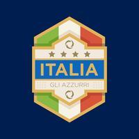 Italien VM fotbollsignaler vektor