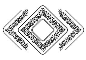 flygande fåglar silhuetter på vit bakgrund. vektor illustration. isolerad fågel som flyger. tatuering design.