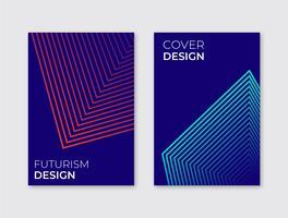 Futurismus-Cover-Vorlage