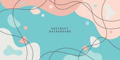 abstrakt bakgrund i minimalistisk trendig stil vektor