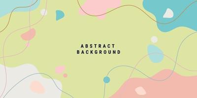 moderna bakgrundsmallar med organiskt abstrakt vektor