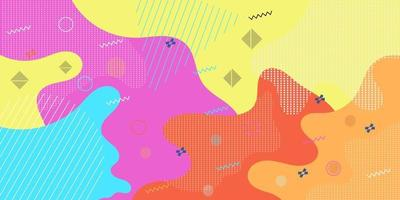 Spaß abstrakte Hintergrundmuster vektor