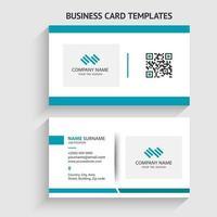 modern visitkortsmall. brevpapper design, platt design, tryckmall, vektorillustration.