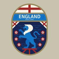 England VM fotbollsnamn vektor