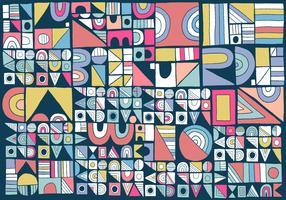 modernes geometrisches Muster vektor