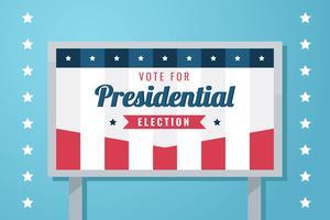 Kampagnen-Zeichen-Vektor