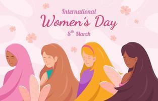 Internationaler Frauentag vektor