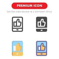 som ikonpaket isolerad på vit bakgrund. för din webbdesign, logotyp, app, ui. vektorgrafikillustration och redigerbar stroke. eps 10. vektor