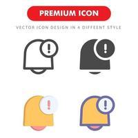 anmälan ikon pack isolerad på vit bakgrund. för din webbdesign, logotyp, app, ui. vektorgrafikillustration och redigerbar stroke. eps 10. vektor