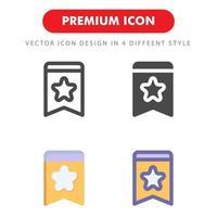 tag ikon pack isolerad på vit bakgrund. för din webbdesign, logotyp, app, ui. vektorgrafikillustration och redigerbar stroke. eps 10. vektor