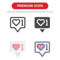 sociala nätverk ikon pack isolerad på vit bakgrund. för din webbdesign, logotyp, app, ui. vektorgrafikillustration och redigerbar stroke. eps 10. vektor