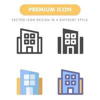 office ikon pack isolerad på vit bakgrund. för din webbdesign, logotyp, app, ui. vektorgrafikillustration och redigerbar stroke. eps 10. vektor