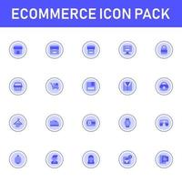e-handel ikon pack isolerad på vit bakgrund. för din webbdesign, logotyp, app, ui. vektorgrafikillustration och redigerbar stroke. eps 10.