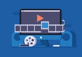 Videoredigeringsvektor