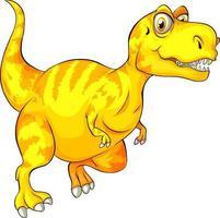 eine Raptorex-Dinosaurier-Zeichentrickfigur vektor