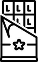 Liniensymbol für Schokoriegel