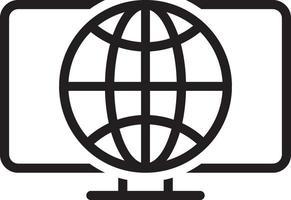 Liniensymbol für das Web