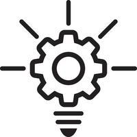 Liniensymbol für Creative