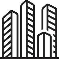 Liniensymbol für Kompensationen vektor