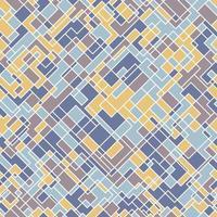 nahtloses abstraktes quadratisches Muster. vektor
