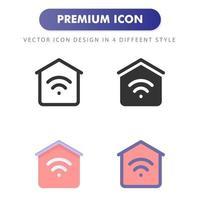 Heimikone lokalisiert auf weißem Hintergrund. für Ihr Website-Design, Logo, App, UI. Vektorgrafiken Illustration und bearbeitbarer Strich. eps 10. vektor