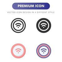 trådlös laddningsikon isolerad på vit bakgrund. för din webbdesign, logotyp, app, ui. vektorgrafikillustration och redigerbar stroke. eps 10. vektor