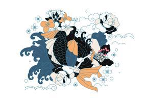 Japanische Tätowierung vektor