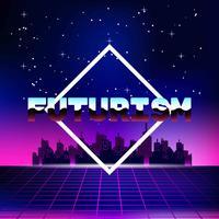 Futurismus Hintergrund