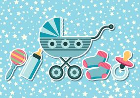 Baby Shower Bakgrunder