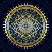 kreatives Mandala-Hintergrundmuster vektor