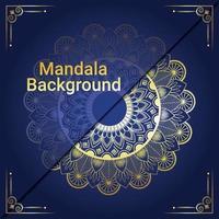 Luxus Mandal Hintergrund vektor