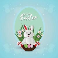 Happy Easter Day Feier Hintergrund