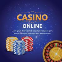 casino online-banner vektor