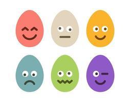 påsk emoji ägg set