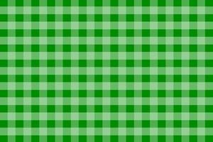 grüner Gingham-Musterhintergrund vektor