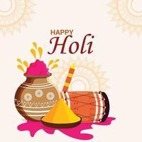 Happy Holi Feier Hintergrund