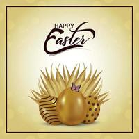Happy Easter Day Grußkarte