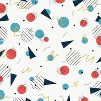 abstrakt kreativ design av geometrisk minimal grunge ritad bakgrund. illustration vektor eps10