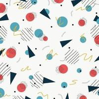 abstraktes kreatives Design des geometrischen minimalen Grunge gezeichneten Hintergrunds. Illustrationsvektor eps10