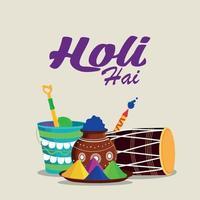 glad holi indisk hinduisk festival bakgrund
