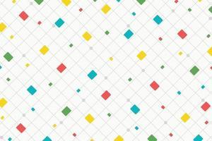 abstraktes quadratisches Muster des Hintergrunds des bunten technischen Designkunstwerks. Illustrationsvektor eps10 vektor