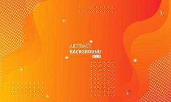 abstrakte orange flüssige Farbe Hintergrund.welliger geometrischer Hintergrund.dynamisch strukturiertes geometrisches Elementdesign.