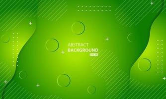 minimal geometrisk grön bakgrund. dynamisk formkomposition. vektor