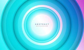 Farbverlauf Hintergrund. abstrakter Kreis Papierschnitt glatte Farbzusammensetzung.