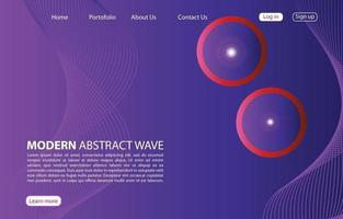 landningssida. abstrakt bakgrundswebbplats. mall för webbplatser eller appar. modern design. abstrakt vektor stil design
