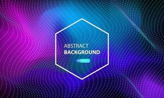 abstrakter Partikelflusshintergrund mit Punktkombination. dynamischer abstrakter flüssiger Partikelhintergrund.