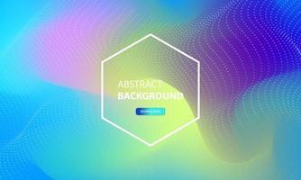 abstrakt partikelflödesbakgrund med prickkombination. dynamisk abstrakt flytande partiklar bakgrund.