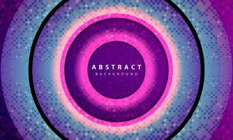 moderner abstrakter lila Hintergrundvektor. Layout-Design mit dynamischen Formen für Sportereignisse.