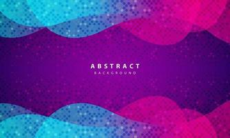 modern abstrakt lila bakgrundsvektor. layoutdesign med dynamiska former