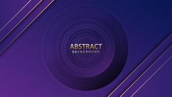 kreativ geometrisk bakgrund. mörkblå överlappande lager med glitter. vektor eps10